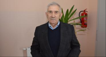 Heliodor Kubiak z sołectwa Osiecz Mały w gminie Boniewo. 63 lata jest sołtysem