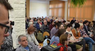 Mieszkańcy wylali swoje żale na spotkaniu z Prezydentem Włocławka Markiem Wojtkowskim