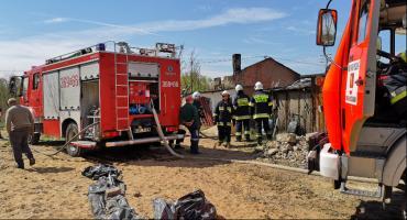 Tragiczny pożar w Mostkach w Gminie Włocławek