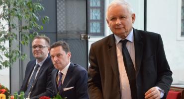 Prezes PiS Jarosław Kaczyński odwiedził Włocławek