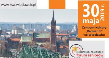 II Kujawsko-Pomorskie Forum Seniorów we Włocławku. Seniorzy z całego województwa zjadą do Włocławka