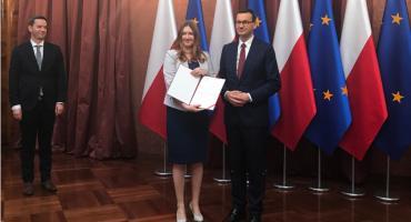 Anna Gembicka z Włocławka nowym wiceministrem w Ministerstwie Inwestycji i Rozwoju