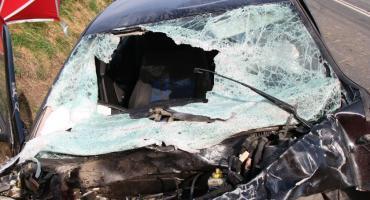 Tragiczny wypadek w Łąkocinie. Nie żyje 50-letnia kobiety. 4 osoby trafiły do szpitala