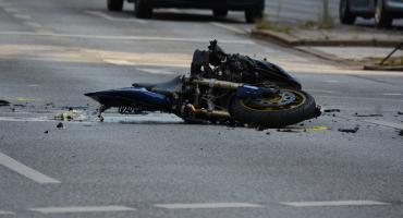 Wypadek z udziałem 18-letniego motocyklisty w Kruszynie w Gminie Włocławek