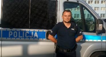 Kobieta zasłabła w Kulinie. Uratował ją policjant z pielęgniarką