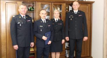 Komenda Miejska Straży Pożarnej we Włocławku ma nowego Komendanta
