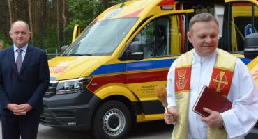 Włocławski szpital otrzymał 3 nowe ambulanse