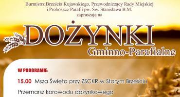 Dożynki 2019 w Brześciu Kujawskim. Program Święta Plonów