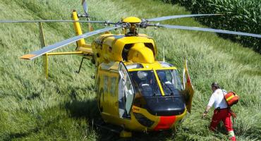 Tragiczny wypadek w Gminie Choceń. Wózek widłowy przygniótł operatora