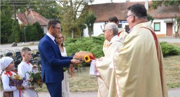 Dożynki 2019 Brześć Kujawski: Msza św. w Starym Brześciu