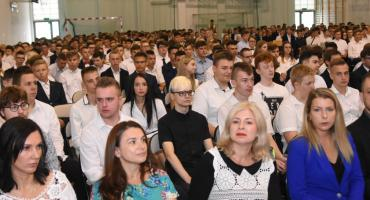 Rozpoczęcie roku szkolnego 2019/2020 we Włocławku: ZST – Zespół Szkół Technicznych