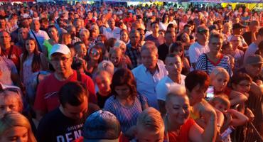 Tłumy na Dożynkach 2019 w Brześciu Kujawskim [VIDEO]
