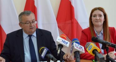 Minister Infrastruktury Andrzej Adamczyk we Włocławku