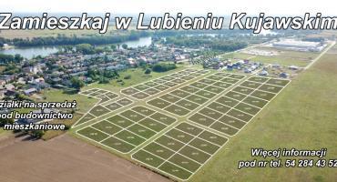 Atrakcyjne działki w Gminie Lubień Kujawski na sprzedaż