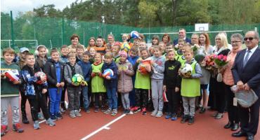 Boisko z dofinansowaniem z Ministerstwa Sportu w Smólniku Gmina Włocławek