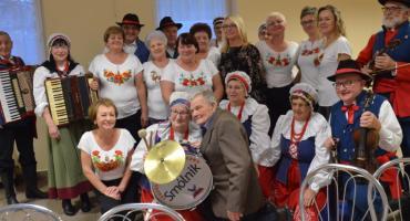 Spotkanie seniora w Wistce Królewskiej Gmina Włocławek [ZDJĘCIA]