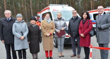 Nowe ambulanse  dla Brześcia Kujawskiego i Izbicy Kujawskiej