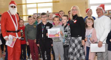 Mikołaj odwiedził szkoły w Gminie Włocławek